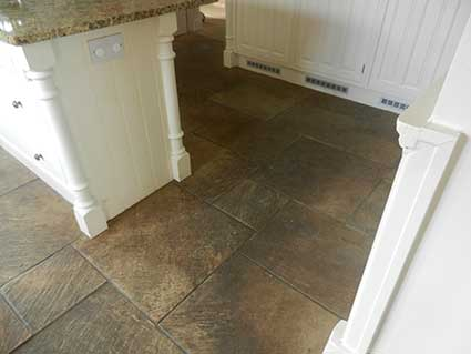 Indian Stone Floor Cleaning in Cheshire before1