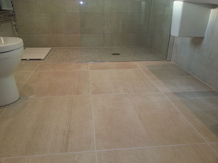 Porcelain Tile Floor Cleaning in Cheshire1